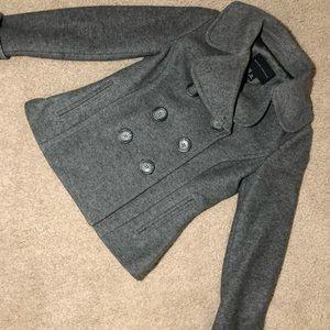 Banana Republic Short Wool Pea Coat